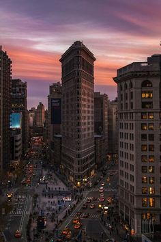bluepueblo: Dusk, New York City photo via horst