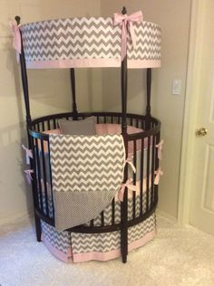 Circle Crib Bedding Round Crib Bumpers Designing Inspiration Stunning Bedding For Round Cribs 52 For Interior Designing Home, Round White Baby Crib Round Designs, Round Crib Bedding, White Baby Cribs, Round Cribs, Baby Boy Haircuts, Baby Art, Trendy Baby, Bassinet, Baby Room, Baby Gifts