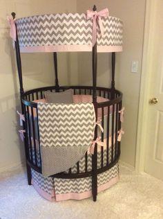 Circle Crib Bedding Round Crib Bumpers Designing Inspiration Stunning Bedding For Round Cribs 52 For Interior Designing Home, Round White Baby Crib Round Designs,