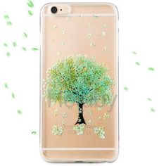 Joyroom Colorful Series Flower Grain TPU Back Case for iPhone 6 6S - Green
