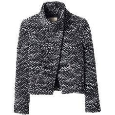 d2a1015f020 Rebecca Taylor Amsterdam Tweed Jacket ( 219) ❤ liked on Polyvore featuring  outerwear