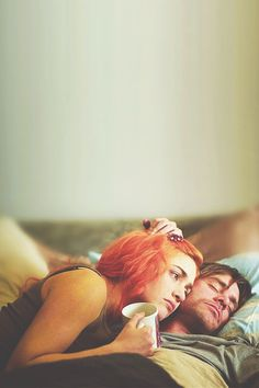 You can erase someone from your mind. Getting them out of your heart is another story. Kate Winslet & Jim Carrey in Eternal Sunshine of the Spotless Mind (Michel Gondry, Kate Winslet, Love Movie, Movie Tv, Michel Gondry, The Truman Show, Films Cinema, Bon Film, Film Inspiration, Jim Carrey