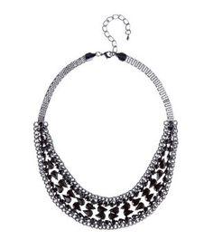 Necklace black - Promod