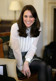 Kate Middleton Huffington Post Event at Kensington Palace | POPSUGAR Celebrity