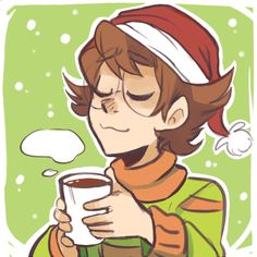 Pidge's Christmas with Hot Chocolate from Voltron Legendary Defender