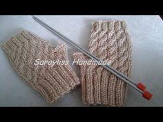How to make knitting glover, Diy Abschnitt, Crochet Baby Sweaters, Crochet Mittens, Knitting Blogs, Baby Knitting, Youtube Crochet Patterns, Big Knit Blanket, Baby Pullover, Fingerless Gloves Knitted, Beaded Cross Stitch