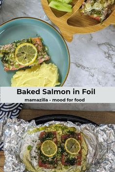 This baked salmon in foil is so quick and easy to make. It will make your meal look so special! Serve it with some steamed or roasted veggies and some potato mash.  #salmon​ #fishrecipes​ #healthyrecipes​ #salmonrecipes​ #foodblog​ #toddlerfoodideas #mamazillamoodforfood Easy Delicious Recipes, Yummy Food, Healthy Recipes, Salmon Recipes, Fish Recipes, Baked Salmon, Toddler Meals, Potato, Roast