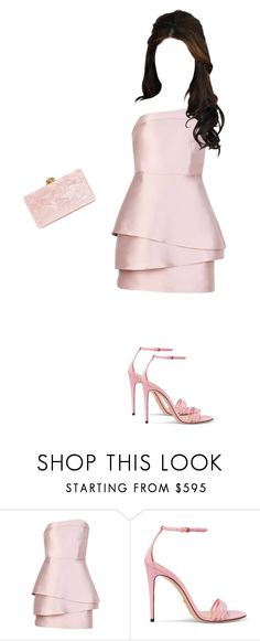 """""""Outfit for party"""" by elzikaa on Polyvore featuring Mestiza, Gucci and Edie Parker"""