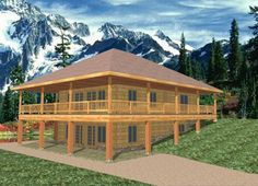 2 story u shaped house design three pronged attack this for Ranch house plans with daylight basement
