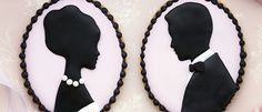 Cameo {or Silhouette} Cookie How-To