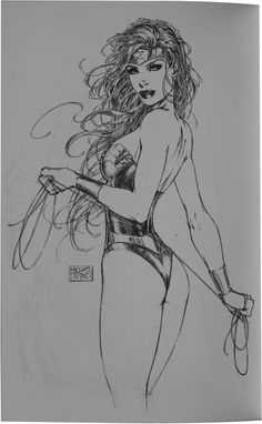 Michael Turner Sketchbook B Wonder Woman 2006 Aschans Comic Book Artists, Comic Book Characters, Comic Artist, Comic Character, Comic Books Art, Michael Turner, Comics Girls, Dc Comics, Turner Artworks