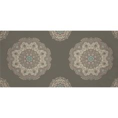 They have this in a blue print as well - again I like the detail and daintiness of the print.  Home Accents Casablanca Opal