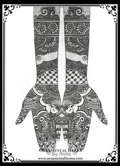 Henna design - Ornamental Henna