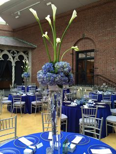 Blue perfection #FurstEvents #DaytonArtInstitute
