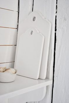 Ironstone serving boards