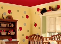Children spend a lot of time in this Kids Room Paint Color Ideas, not only at night but also during the day.