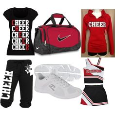 """""""Cheer Stuff"""" by melody-jordan on Polyvore"""