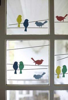 9 ideas para decorar y tapar ventanas sin cortinas.   Mil Ideas de Decoración