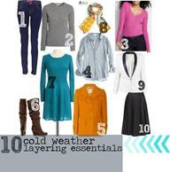 10 Cold Weather Laye