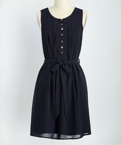 Another great find on #zulily! Navy Bayfront Bliss Dress #zulilyfinds