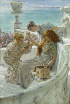 Sir Lawrence Alma-Tadema (British, 1836-1912) Fortune's Favourite