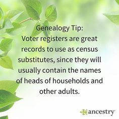 Have you found your ancestors in voting records?  #voting #vote #politics #primaries #voter #RightToVote #ancestry #genealogy #familyhistory #familytree #heritage #roots #democrats #republican #independent #USHistory #history