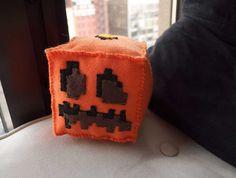 Minecraft Pumpkin Plush\, $35.00