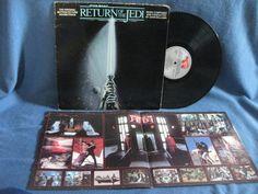 RARE Vintage Star Wars Return Of The Jedi by sweetleafvinyl Star Wars Toys, Star Wars Art, Star Trek, Ship Craft, Disney Records, Vinyl Sales, Film Score, Episode Vii, Original Trilogy