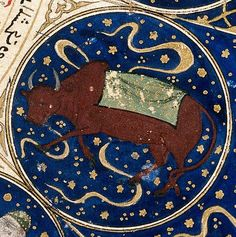 "File:Taurus - Horoscope from 'The book of birth of Iskandar"" Wellcome Taurus Art, Zodiac Signs Taurus, Taurus Horoscope, Libra, Zodiac Elements, Wellcome Collection, Islamic Paintings, Islamic Art, Traditional Art"
