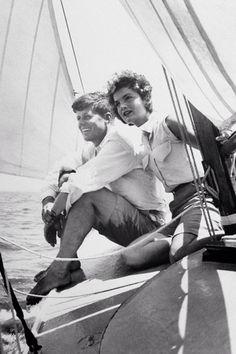 John Kennedy & Jacqueline Kennedy