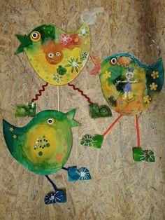 Ptáčci Jarabáčci - voskovky a barvičky