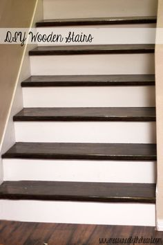 Best Diy Stair Makeover Particle Board Under Carpet Stairs 400 x 300