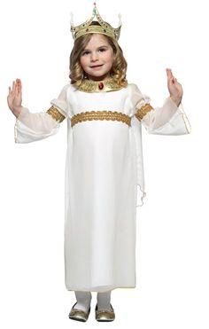 Toddler's Purim Queen Esther Costume
