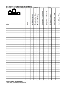 cafe inventory order guide google doc