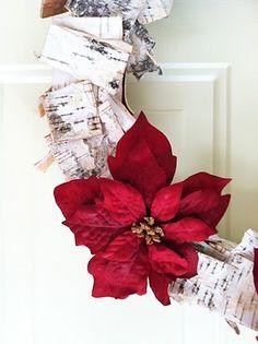 Homemade Birch Wreath