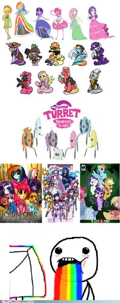 MLP crossovers my fav is Adventure Time+ MLP!