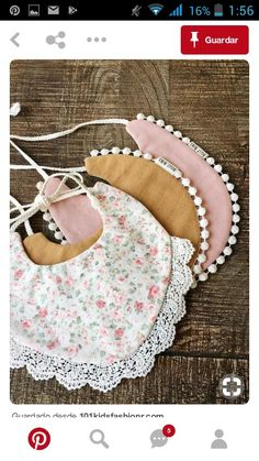 Handmade baby drool bibs sold on Etsy by BillyBibs Handgemachtes Baby, Baby Bibs, Diy Baby, Bibs For Babies, Baby Sewing Projects, Baby Crafts, Baby Accessories, Sewing Clothes, Baby Dress