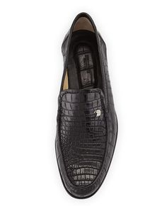 2d0e0f1ce94 Stefano Ricci Crocodile Leather Loafer