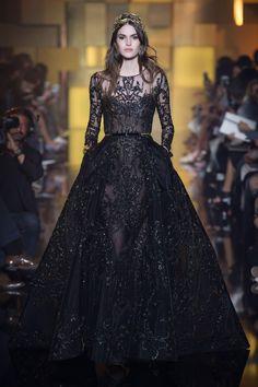 2016 elie saab couture | hiver 2015 2016 paris look 9 défilé elie saab haute couture automne ...