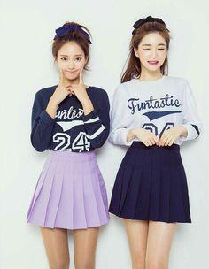 White & Black Funtastic 24 Shirt w/ Purple & Black Skirt