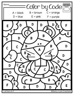 10 Best Coloring Worksheets for Kindergarten 10 Best Coloring Worksheets for Kindergarten - Everyone will love the beautiful color combination, this time we will give you an idea about Coloring W. Coloring Worksheets For Kindergarten, Literacy Worksheets, Numbers Kindergarten, Math Literacy, Preschool Curriculum, Free Preschool, Preschool Printables, Kindergarten Reading, Fun Worksheets For Kids