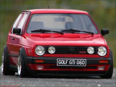 Volkswagen Golf GTI G60 - Still miss My slammed G60 that got hit in a crash.
