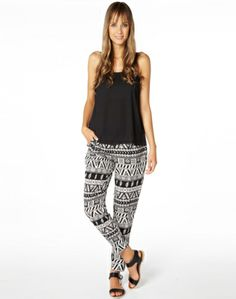 Casual Pants, Aztec Print Relaxed Pant, Buy Online Harem Pants Outfit, Aztec, Casual Pants, My Style, Womens Fashion, Outfits, Clothes, Shopping, Dresses