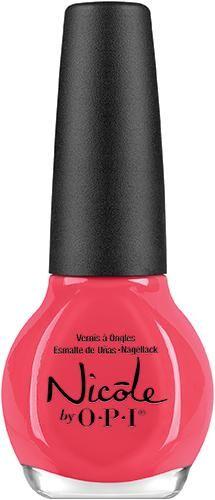 Nicole by OPI Nail Laquer is long-wearing and fast drying nail polish. Bright Nail Polish, Opi Nail Polish, Nail Polish Colors, Pink Nail, Nail Polishes, Manicures, Tan Nails, Hair And Nails, Fast Drying Nail Polish