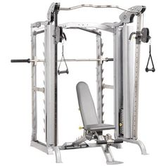 Hoist PTS-ENS 2 - Have a dual function smith / jones machine. Will want next to the Body Solid as this one has a functional cross trainer attached.