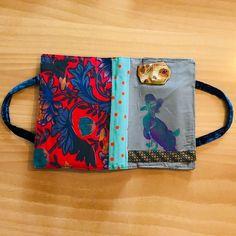 "Textile book covers ""Sunbird"" #handbag #handmade #custommade #premium #exclusive"
