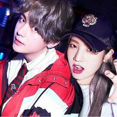 Dahyun and Taehyung