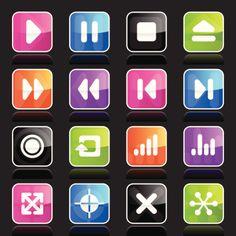 Ubergloss Icons Navigation Vector Art 166012172