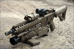 Dark Earth SBR with Grenade Launcher.. I think I'd like one of these :)