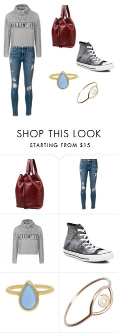 """""""""""Lifting the Spirits"""" Chapter Ensemble"""" by kharlottek ❤ liked on Polyvore featuring 8, Frame Denim, Ally Fashion, Converse, Annette Ferdinandsen and Stefanie Sheehan Jewelry"""